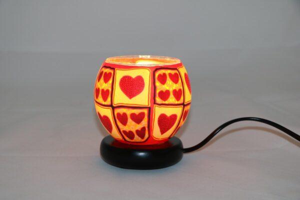 2015 12 24 12.37.23 min 600x400 - Lampe komplett mit Leuchtglas Motiv Hearts