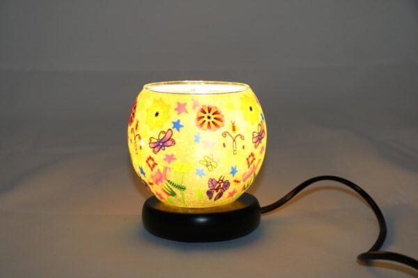 2015 12 24 12.40.46 min 600x400 - Lampe komplett mit Leuchtglas Butterfly Green