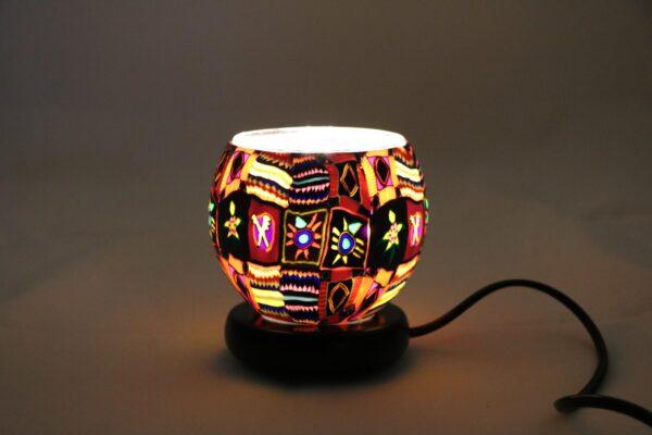 2015 12 24 12.41.38 min 600x400 - Lampe komplett mit Leuchtglas Ethno
