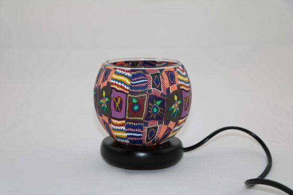 2015 12 24 12.42.45 min 600x400 - Lampe komplett mit Leuchtglas Ethno