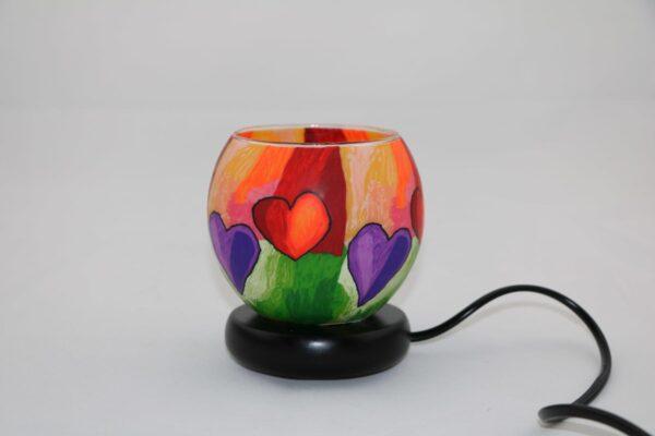 2015 12 24 12.43.41 min 600x400 - Lampe komplett mit Leuchtglas Modern Hearts