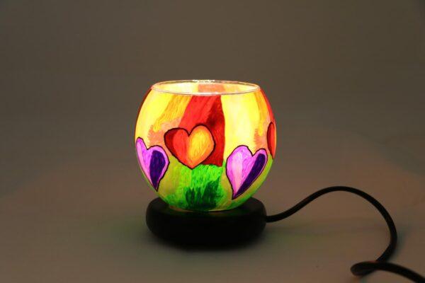 2015 12 24 12.44.07 min 600x400 - Lampe komplett mit Leuchtglas Modern Hearts