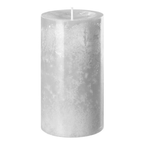 2358.21 12.16 div typ 2 kerzen wenzel2045 278 silbergrau 600x600 - 8 oder 12 Stück Wenzel Kerze Trend Silbergrau in verschiedenen Größen