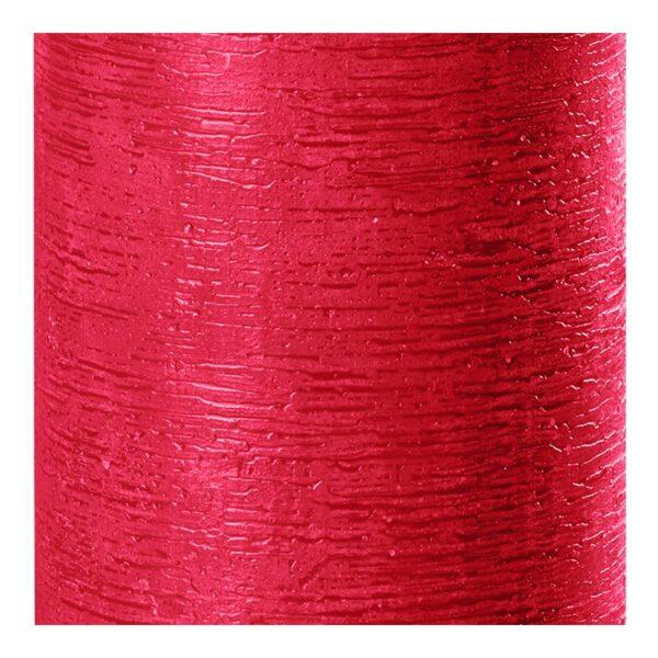 26 rubin 2 600x600 - 8 oder 12 Stück Wenzel Kerze Rustic Rubin Rot in verschiedenen Größen