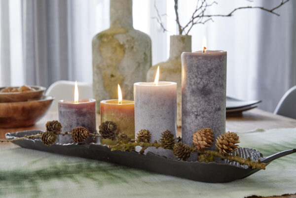 101wohntrends herbst 30259 600x402 - 8 x Trend Safe Candle 90x60 mm