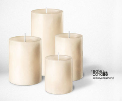 admin ajax.php  - 4 x Duftkerze Safe Candle Trend 90 x 60 mm