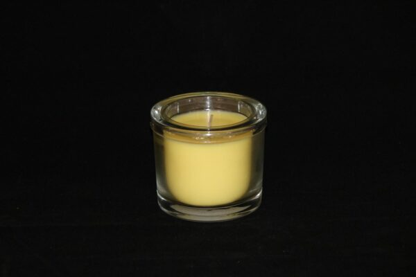img 1083 min 600x400 - 6 x Wenzel Kerze im Glas Farbe pastellgelb