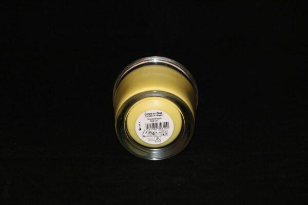 img 1084 min 600x400 - 6 x Wenzel Kerze im Glas Farbe pastellgelb