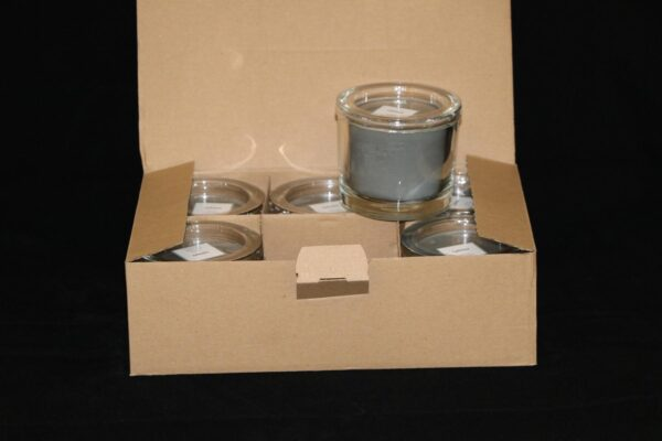img 1085 min 600x400 - 6 x Wenzel Kerze im Glas Farbe kaschmir