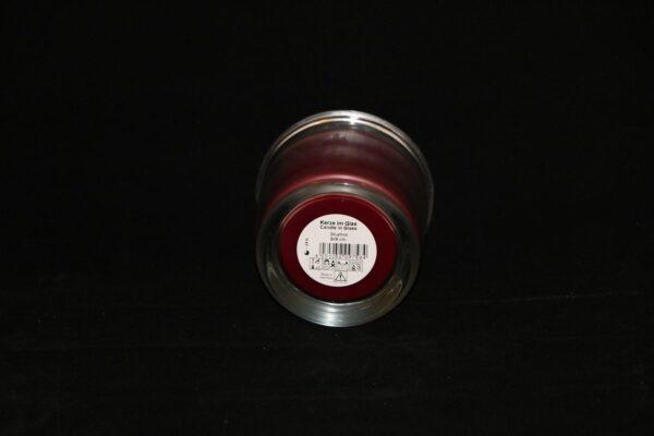 img 1093 min 600x400 - 6 x Wenzel Kerze im Glas Farbe altrot