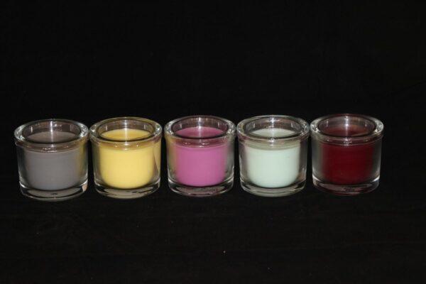 img 1101 min 600x400 - 6 x Wenzel Kerze im Glas Farbe pastellgelb